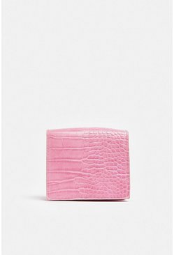 Hot pink Mini Square Chain Strap Bag