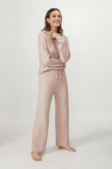 Blush Knitted Trouser