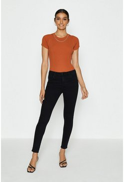 Black Push Up Skinny Jean