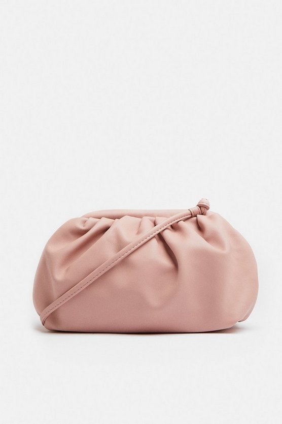 Blush Slouchy Shoulder Bag