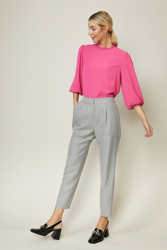 Grey Tailored Trouser