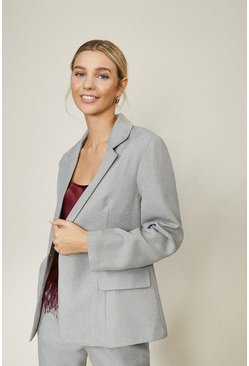 Grey Tailored Blazer