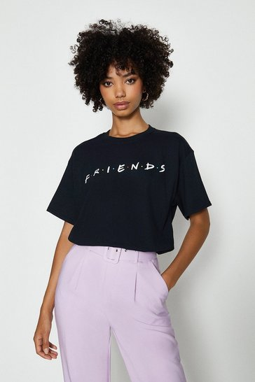 Black Friends License Tshirt