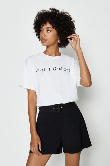 Ivory Friends License Tshirt