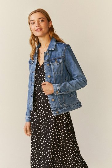 Light blue Light Wash Denim Jacket