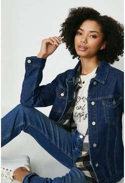 Indigo Dark Wash Denim Jacket