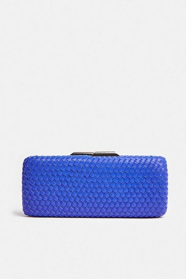 Cobalt Premium Colour Pop Box Clutch