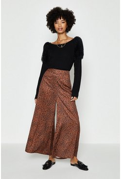 Ochre Animal Culottes