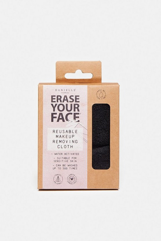 Black Eco Reusable Make Up Remover Cloth
