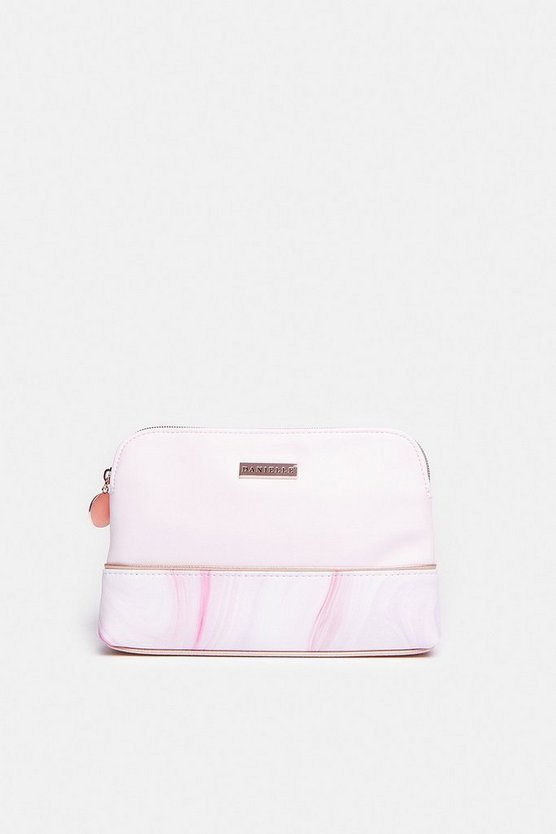Lilac Marble Dream Cosmetic Purse