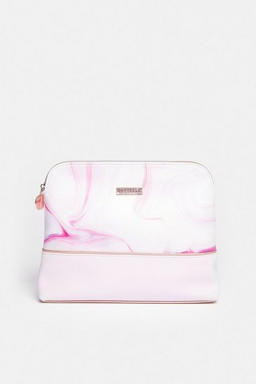 Lilac Marble Dream Large Travel Bag