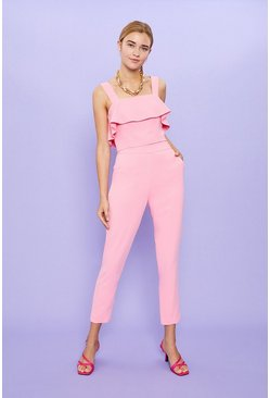 Pink Co-ord High Waisted Trouser