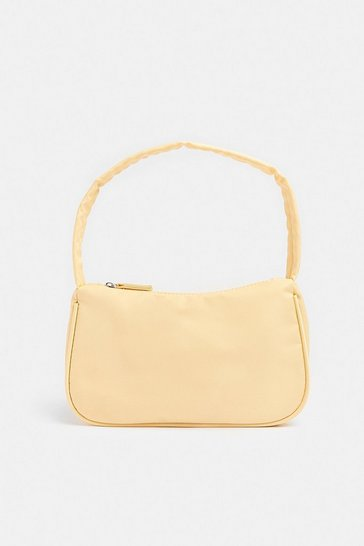 Nude Nylon Shoulder Bag