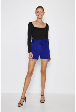 Cobalt Tailored Girlfriend Short