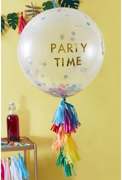 Multi Ginger Ray-Party Time Tassel Balloon