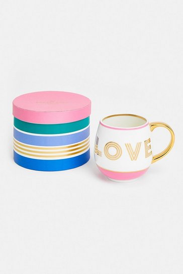 Pink Small Talk Mug Love