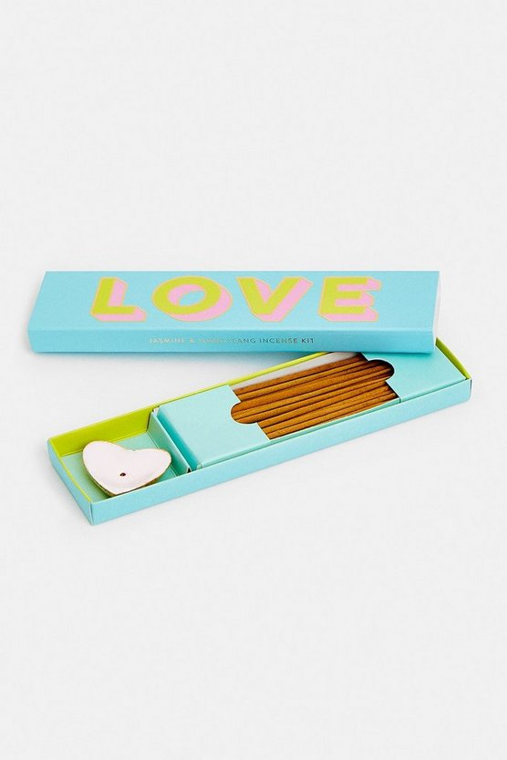 Mint Letterpop Incense Gift