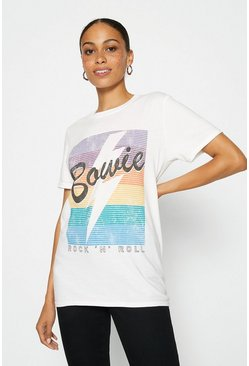 White Rainbow Bowie T Shirt
