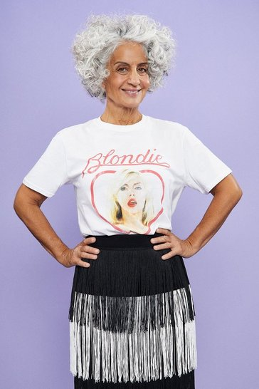 White Blondie Heart T-Shirt