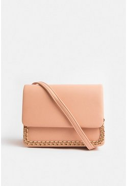 Blush Chain Strap Bag