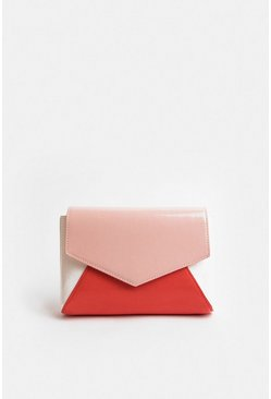 Blush Colour Pop Clutch Bag