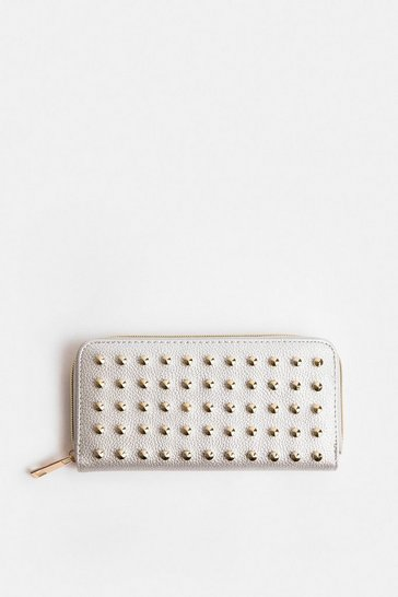 Silver Stud Detail Purse