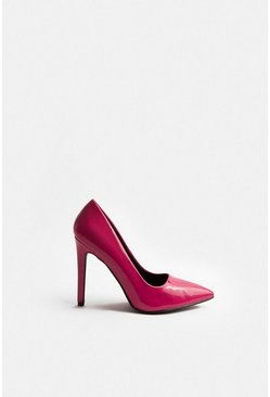 Coral Patent Court Shoe