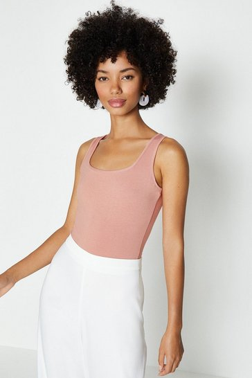 Blush Square Neck Body