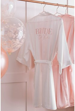 Blush Ginger Ray-Bride To Be' Dressing Gown