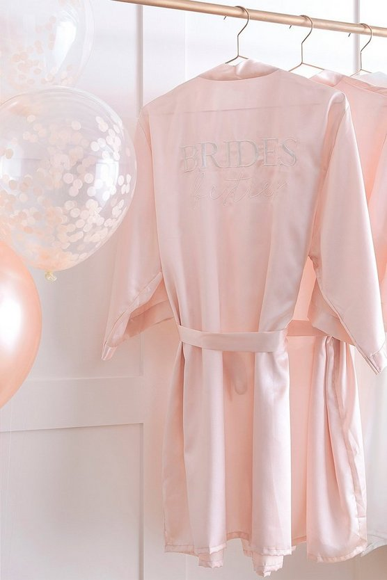 Multi Ginger Ray-'Brides Besties' Dressing Gown