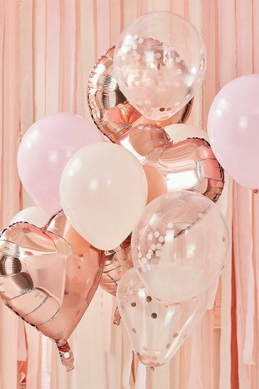 Rose gold Ginger Ray- Balloon Bundle