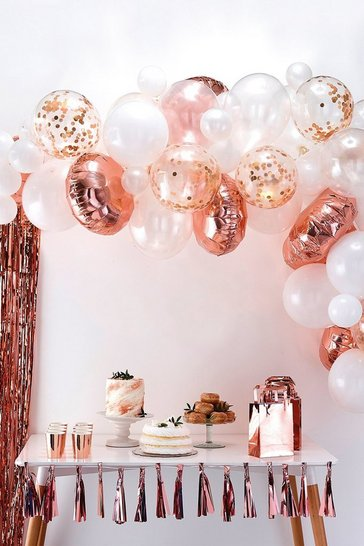 Rose gold Ginger Ray-Balloon Arch