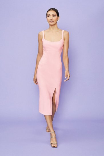 Blush Cami Midi Dress