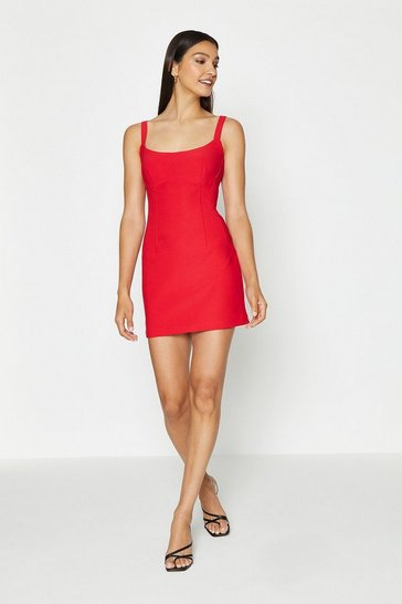 Red Cami Mini Dress