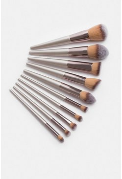 Cosmetics Champagne Pro Brush Set