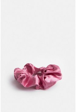 Rose Satin Scrunchie