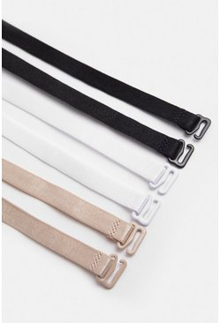 3Pack Multi Bra Strap