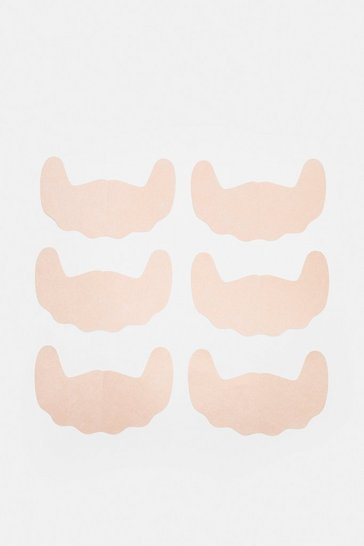 Nude U Shape Breast Tape- 3 Pack