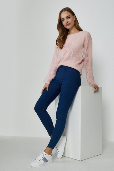 Indigo Pull On Jegging