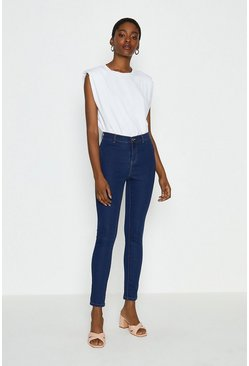 Washed blue Power Stretch Jegging