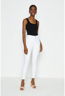 White Power Stretch Jegging