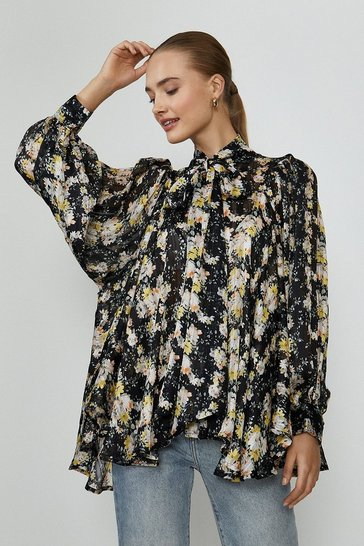 Multi Floral Printed Blouse