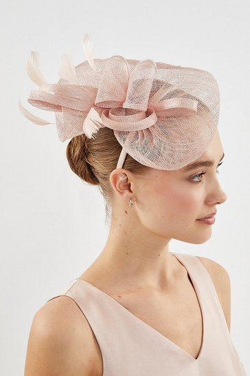 Pink Embellished Fascinator