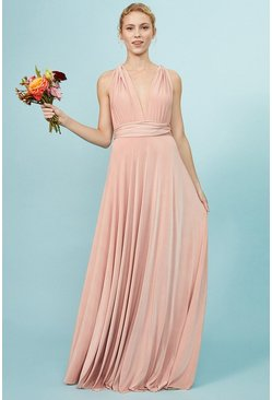 Blush Multiway Jersey Maxi Dress
