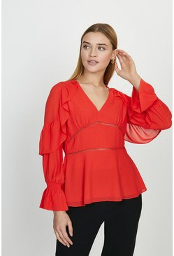 Coral Ladder Insert Trim Top