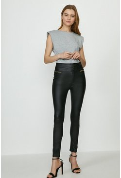 Black Berlin Coated Jean