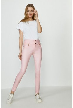 Blush Berlin Coated Jean