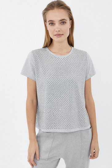 Grey Hotfix T-Shirt