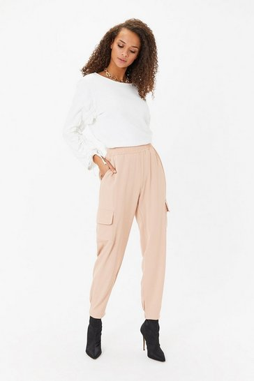 Blush Utility Patch Pocket Jogger
