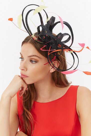Womens Multi Coloured Fascinator
